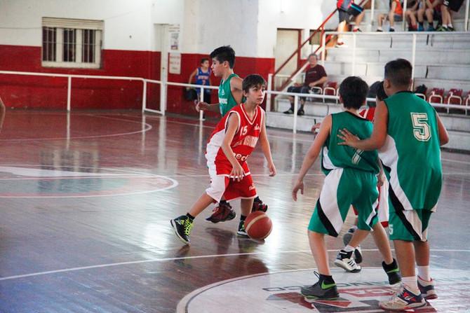 San Isidro es sede del segundo Campus Preselectivo U13 de la Federación de Basquet de la Provincia d