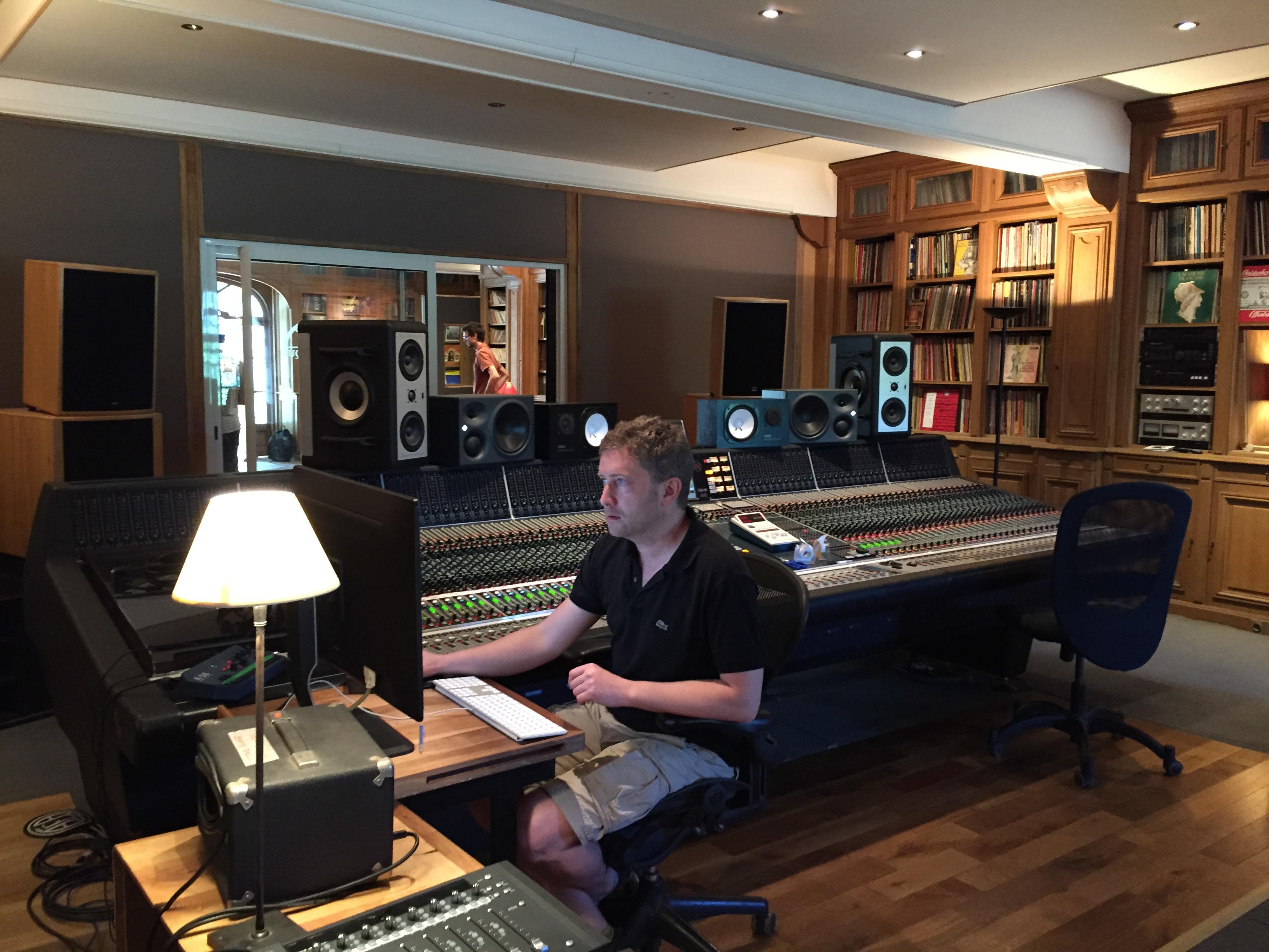 STUDIO LA FABRIQUE CHEDID RECORDING