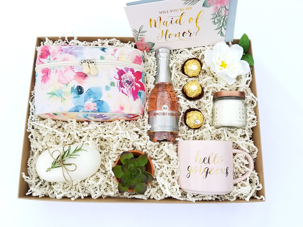 Bridesmaid Proposal Boxes Under $40 | The Divine Reflection