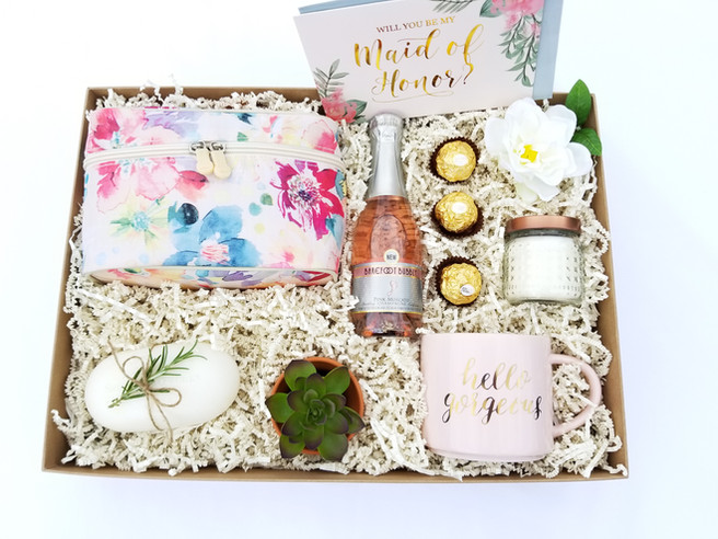 How I Made 3 Bridesmaid Proposal Boxes - All Under $40
