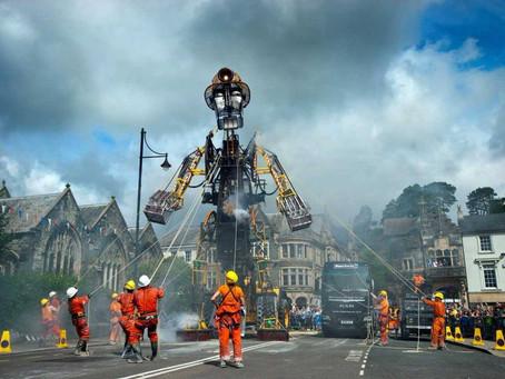 'Man Engine' wins Best Art Project Award