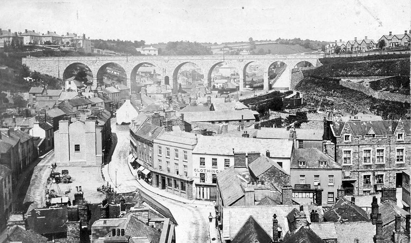 Market Street and the Viaduct, 1910