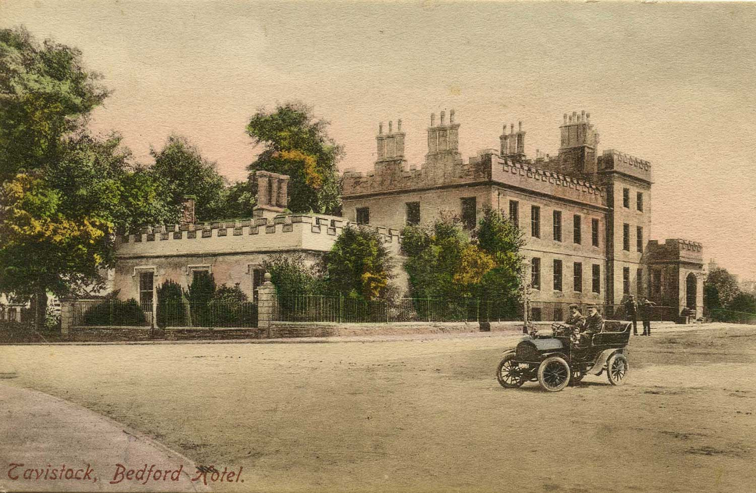 Postcard of the Bedford Hotel, c.1908
