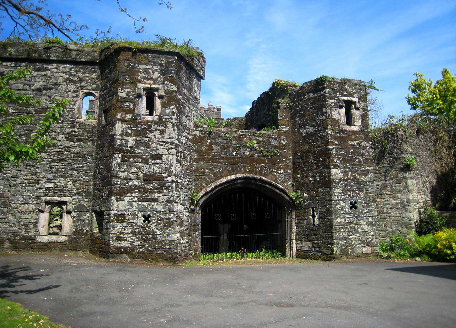 'Betsy Grimbal's Tower', an ancient gateway into Tavistock Abbey