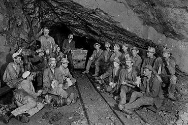Miners in Cornwall