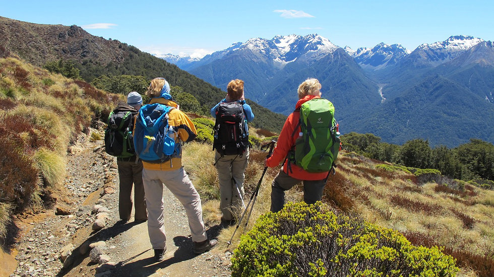 Guided Hiking Tours for Women New Zealand South Island