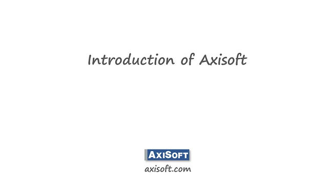 Axisoft is an expert in wealth management solutions
