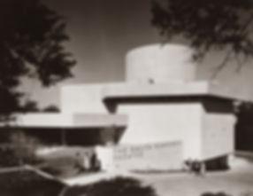 Kalita Humphreys Theater, Historic Facade Entry c.1960.