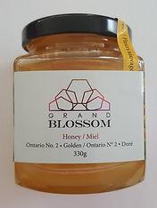 Nature's Golden Harvest Grand Blossom Honey