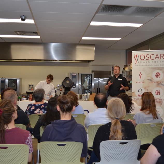 OSCAR Hospitality Texture Modified Food Roadshow 2018.1