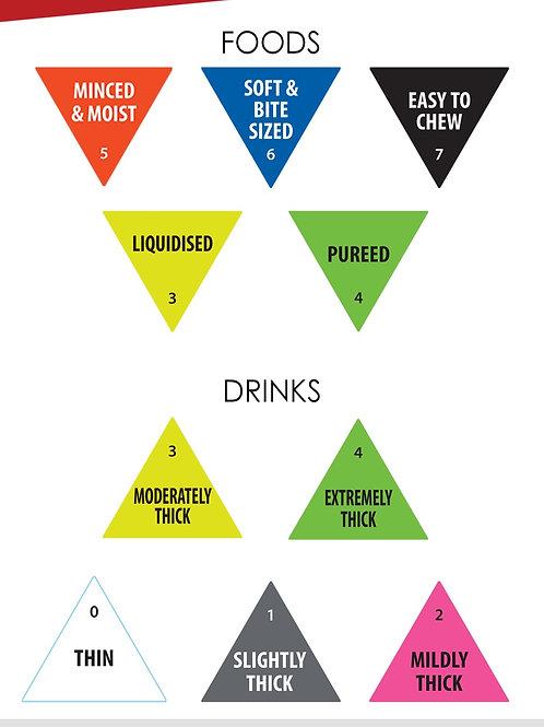 IDDSI Labels