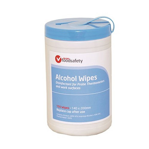 Fildes Thermometer Probe Wipes 150/Tub