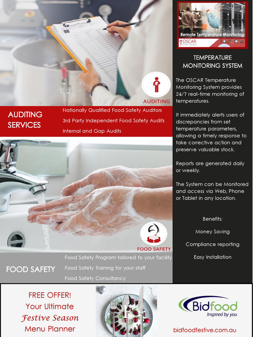OSCAR Auditing & Food Safety