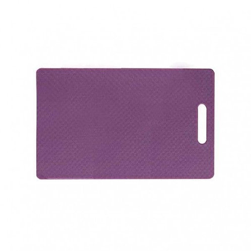 Small Purple Chopping Board with handle 250mm L x 400mm W