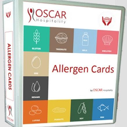 Allergen cards
