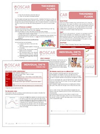 Dietetic Fact Sheets