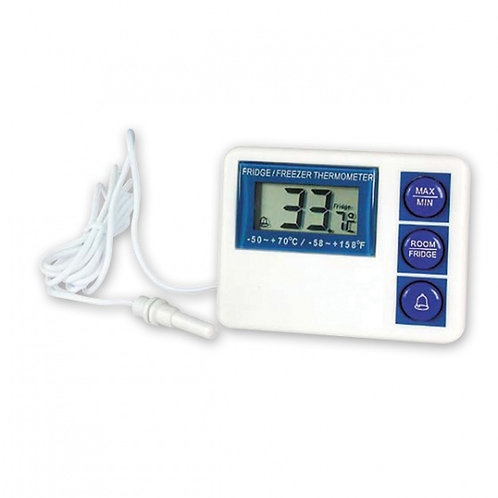 Cater Chef by Trenton Waterproof Digital Fridge / Freezer Thermometer