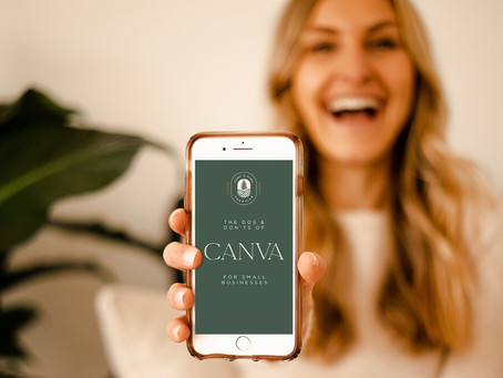 The Do's and Don'ts of CANVA for Small Businesses