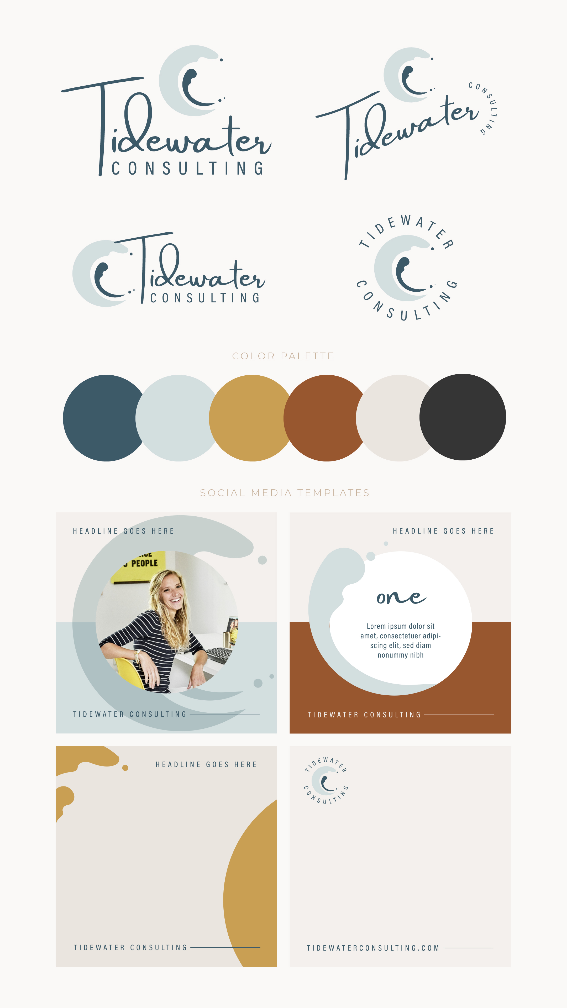 Tidewater Consulting Branding
