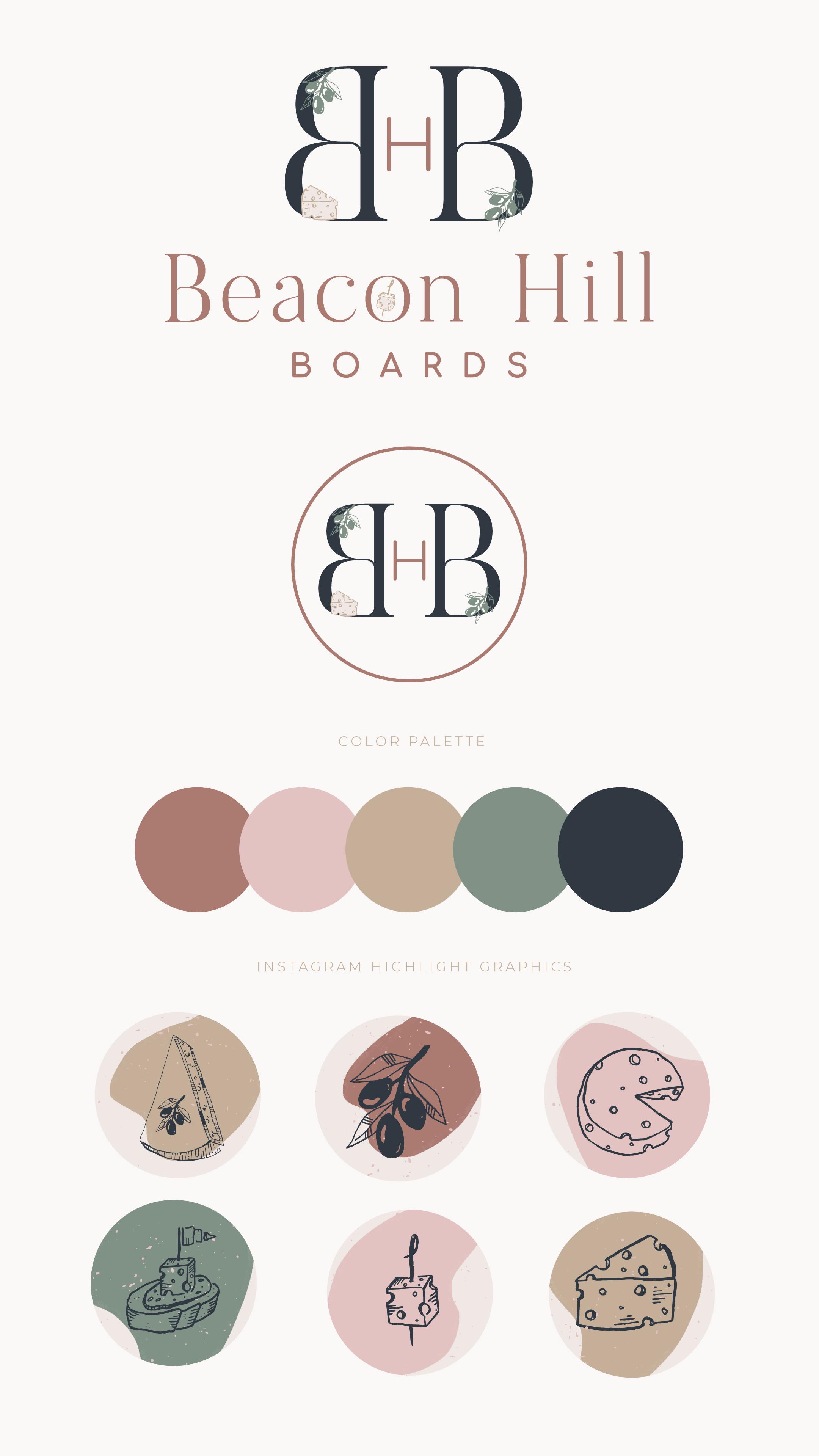 Beacon Hill Boards Branding
