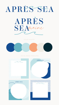 Apres Sea Branding