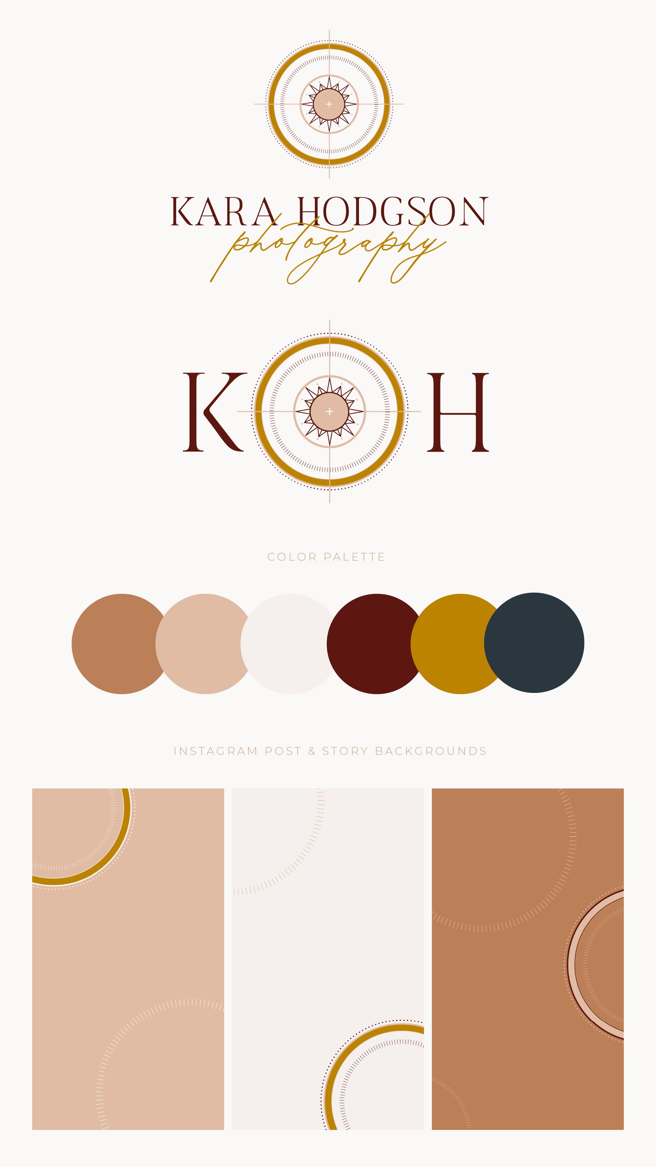 Kara Hodgson Photography Branding