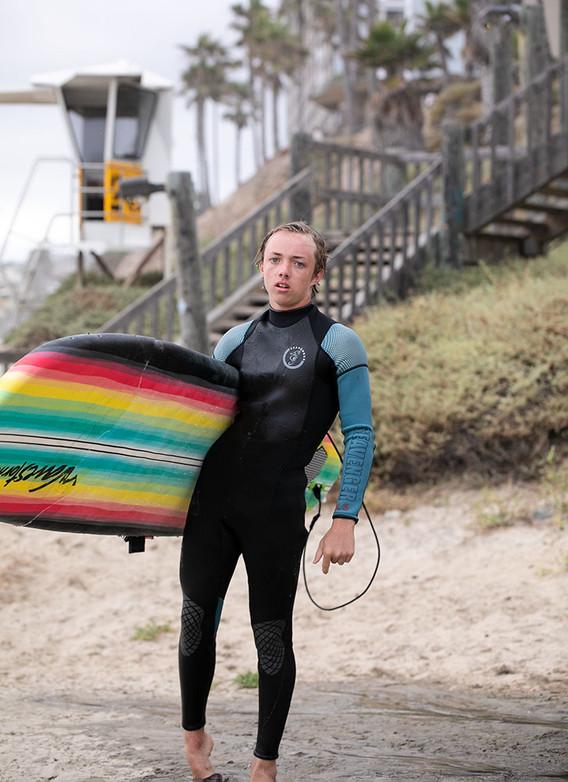 Surf in San Diego 1000x1000px