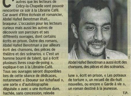 Abdel Hafed Benotman à la librairie