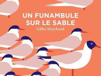 """""""Un funambule dans le sable"""" Gilles Marchand"""