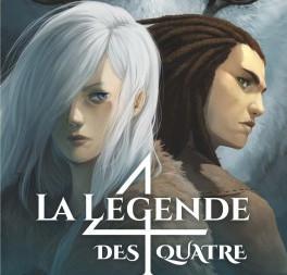 """""""La légende des 4"""" de Cassandra O'Donnel"""