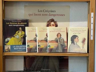 Les Créçoises qui lisent sont dangereuses