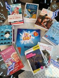 Vos livres de l'année les collégiens !