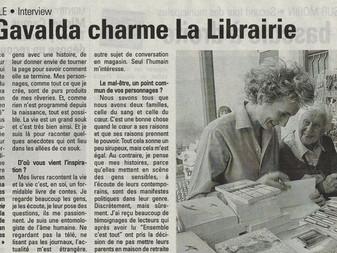 Anna Gavalda charme la librairie