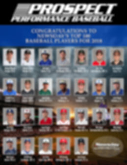 Prospect Sports Top 100 Baseball Players In The News