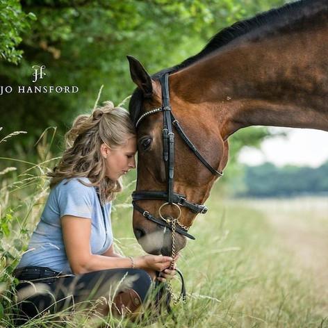 Horse and rider photoshoot