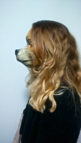 Special effects - Latex chihuahua mask