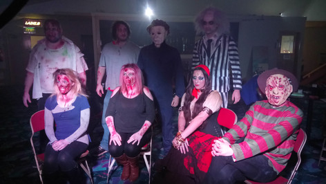 Special effects - Live halloween peformance