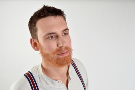 Character photo shoot - Facial hair