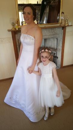 Nikkis wedding day