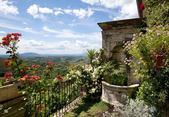 Panorama sul Soratte
