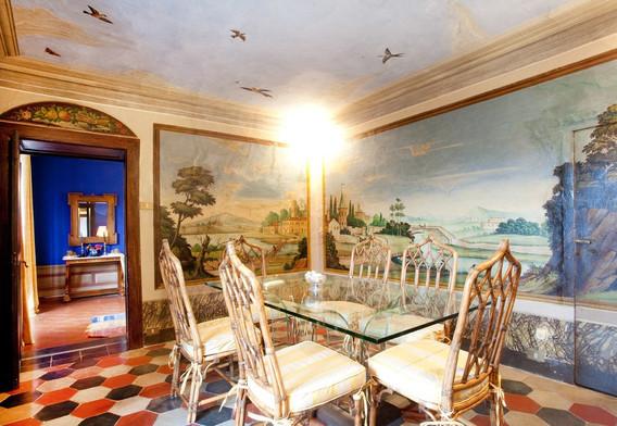 Sala pranzo del Conte