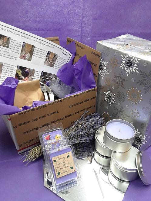 Soy Candle & Wax Tart Making Kit
