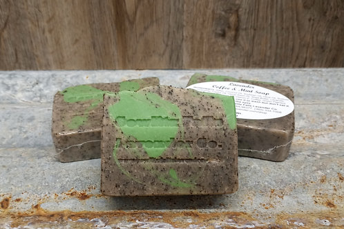 Lavender Coffee & Mint Soap