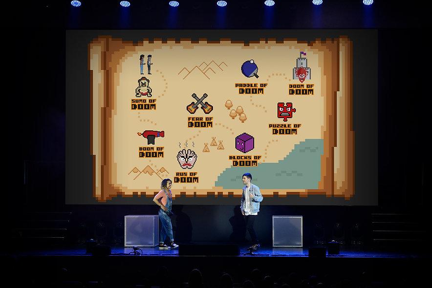 Dan TDM on Tour Map Illustration Gamer Youtub