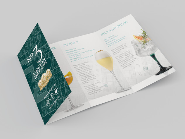 No.3 Gin Necktag