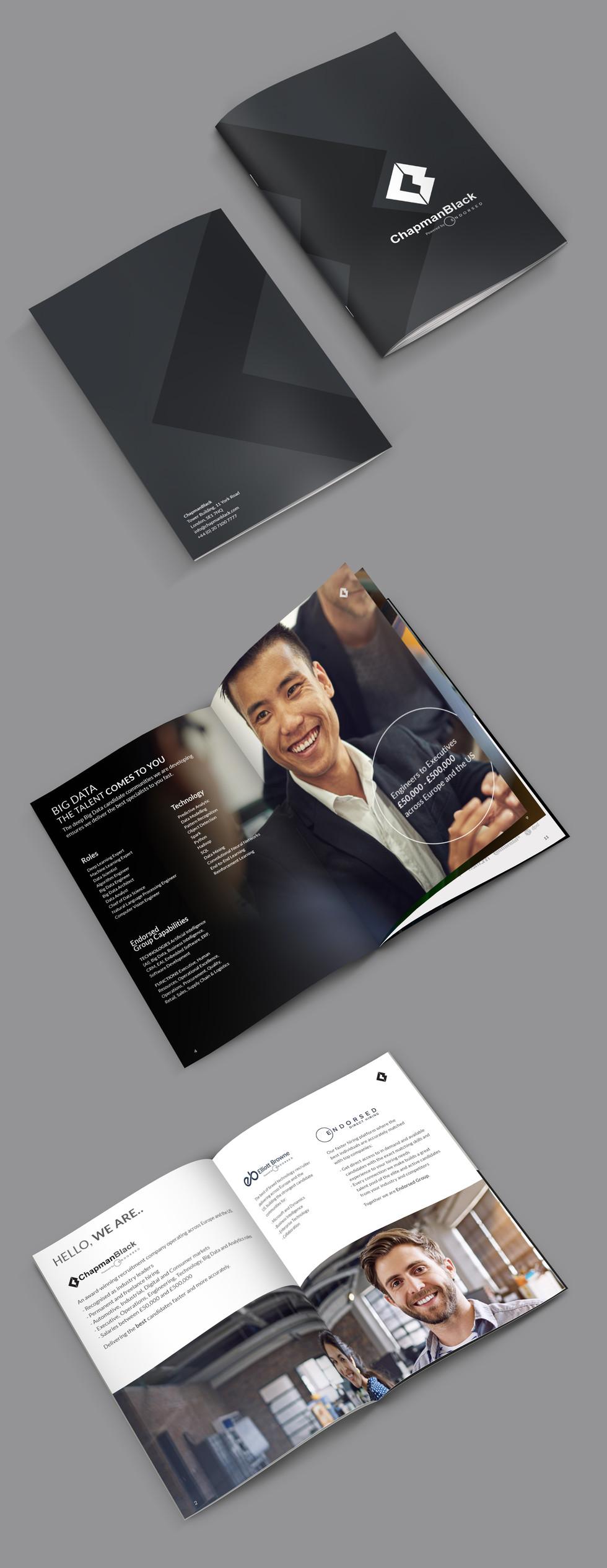 ChapmanBlack Brochure Layout Design Romi Nicole Schneider