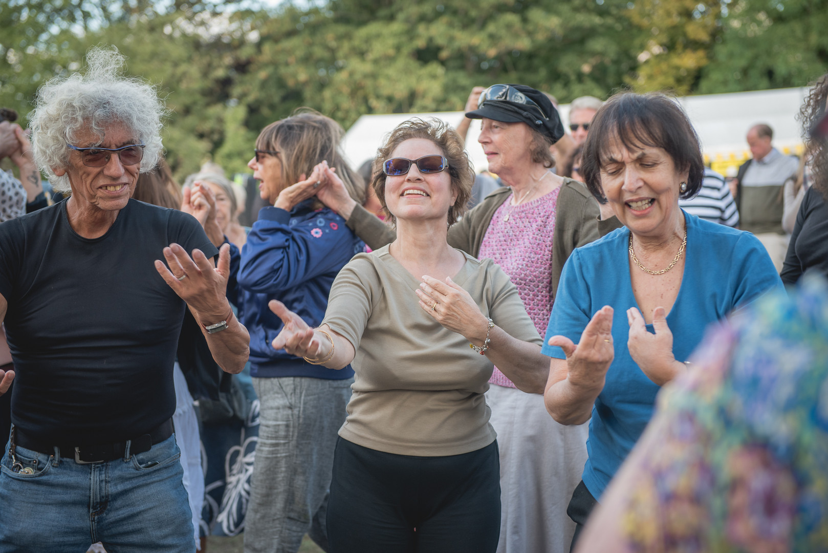 Klezmer in the Park Photography