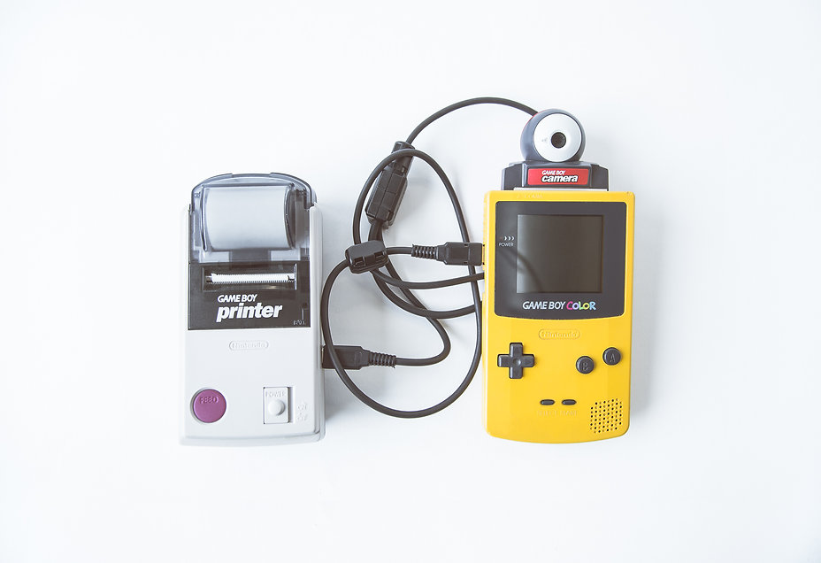 Gameboy Selfie nintendo camera printer