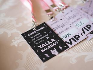 Conceptual Branded Wedding Design