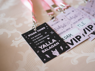 Conceptual Branded Wedding Design